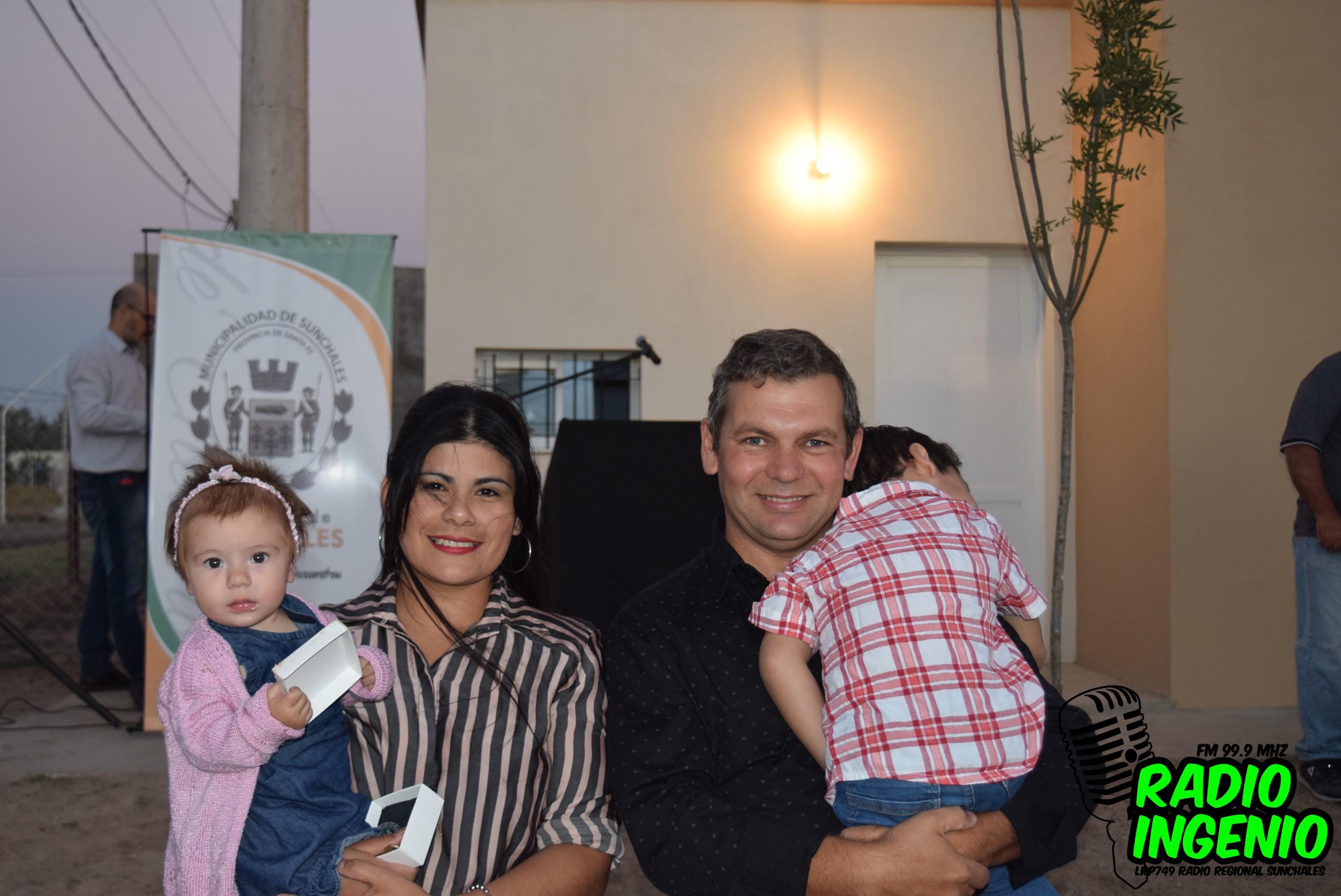 Dos familias accedieron a su primera vivienda del Plan de Ahorro ...